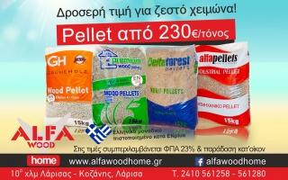 Προσφορά Πέλλετ ξύλου απο 230€/τόνος καλοκαίρι 2015